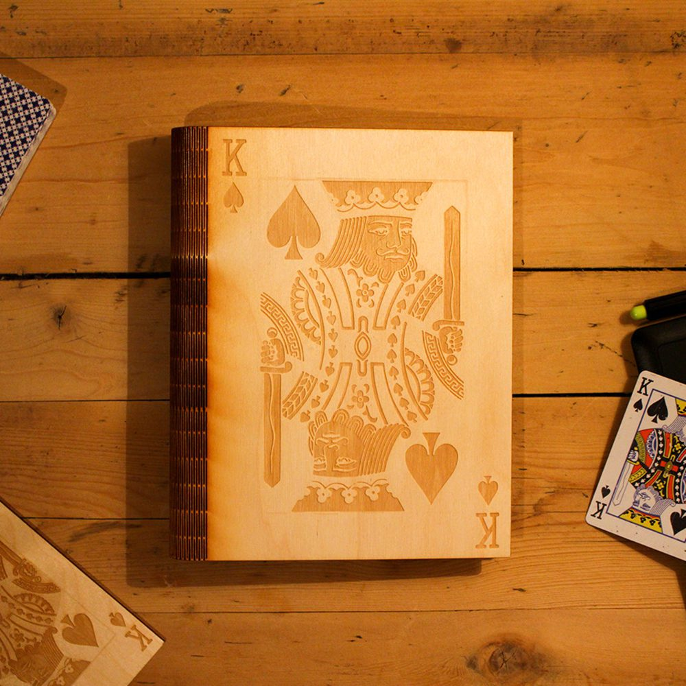 a book about playing cards